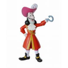 Figura Capitão Gancho 10cm PVC