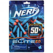 Nerf recarga 50 dardos - E9484 - Elite 2.0 50x - Hasbro