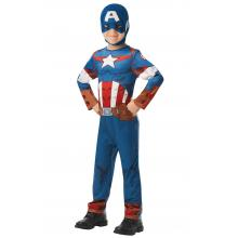 Fato Capitão América 5-6 anos