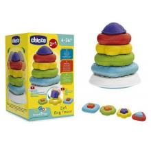 CHICCO Torre dos anéis Smart2play - 9372