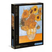 Puzzle 1000 peças Van Gogh - Girasoli - 31438 - Clementoni