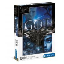 Puzzle 1000 peças - 39589 - Game of Thrones - Clementoni