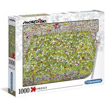 Puzzle The Match - 39537- Mordillo Clementoni
