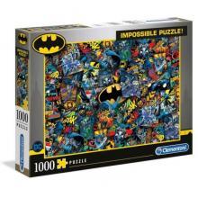 Puzzle Impossible de 1000 peças - Batman - 39575 - Clementoni