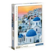 Puzzle 1000 peças - Santorini - 39480 - Clementoni