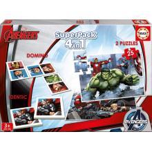 Superpack Avengers Educa 16692