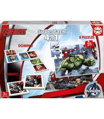 Superpack Avengers Educa 16692