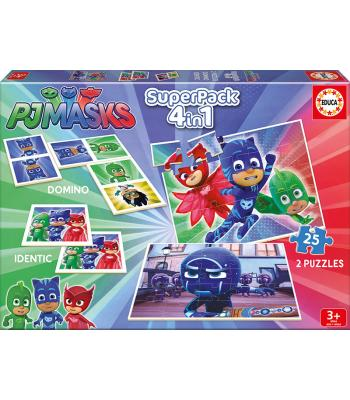 EDUCA Superpack PJmasks - 17258