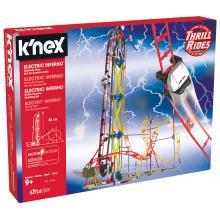 Montanha Rusa Electric Inferno - K'nex - 41213
