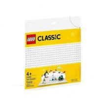 LEGO Classic Placa de Construção Branca - 11010