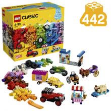 LEGO Classic - 10715 - Peças sobre Rodas