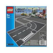 Lego City 7281 entroncamento e curva