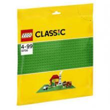 Lego base de construção verde 10700