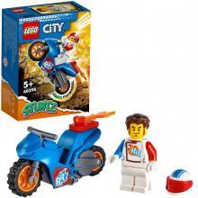LEGO City Stuntz - 60298 - Mota de Acrobacias Rocket