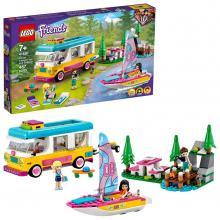 LEGO Friends - Floresta: autocaravana e barco de vela - 41681