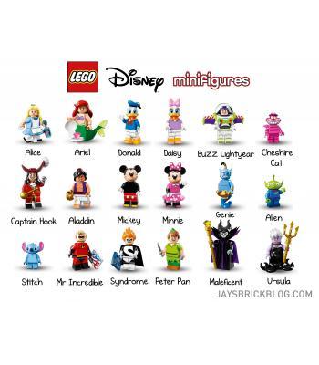 Coleção mini figuras LEGO Disney 71012