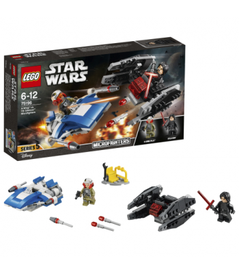 LEGO Star Wars - 75196 - A-Wing™ contra TIE Silencer™ Microfighters