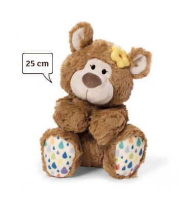 NICI Urso Peluche Menina  de 25cm