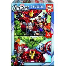 Puzzle 2x48 Avengers - 15932 - Educa