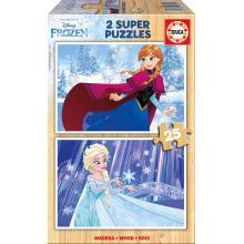 EDUCA Puzzle 2x25 Frozen - 16801