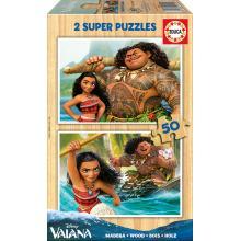 EDUCA Puzzle 2x50 Vaiana - 16950