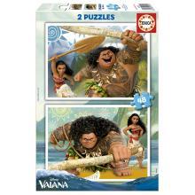 EDUCA Puzzle 2x48 Vaiana - 16952