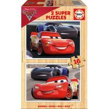 EDUCA Puzzle 2x16 Cars 3 - 17172