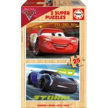 EDUCA Puzzle 2x25 Cars 3 - 17173