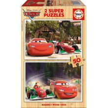 Puzzle 2x50 Cars - 16372 - Educa
