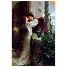 """Puzzle """"Romeu e Julieta, Sir Frank Dicksee"""""""