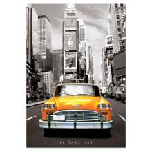 """Puzzle """"Taxi nº1, Nova york"""""""