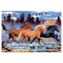"""Puzzle """"Manada de cavalos"""""""