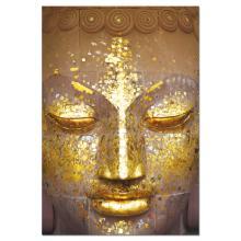 "Puzzle ""Rosto dourado Buda"""