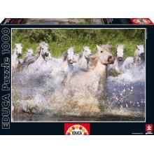 """Puzzle """"Cavalos Brancos de Camarga"""""""