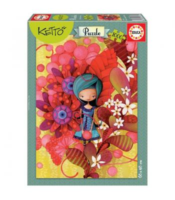"Puzzle ""Blue Lady, Ketto"" 16762"