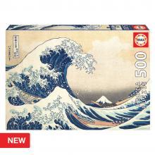 EDUCA Puzzle de 500 peças - A Grande onda de Kanagawa -19002