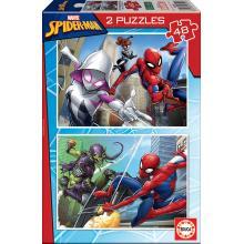Puzzle 2x48 Spiderman - 18099 - Educa