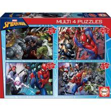 Multi 4 Puzzles Spider-Man - 18102 - Educa