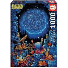 "Puzzle - 18003 - O Astrólogo ""Neon"""