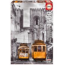 """Puzzle """"Bairro de Alfama, Lisboa"""""""